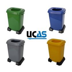 GD 50 L - Plastik Çöp Kutuları