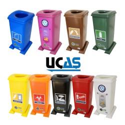 GD 70 L - Plastik Çöp Kutuları