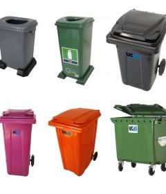 Plastik Çöp Kutuları ve Konteynerleri